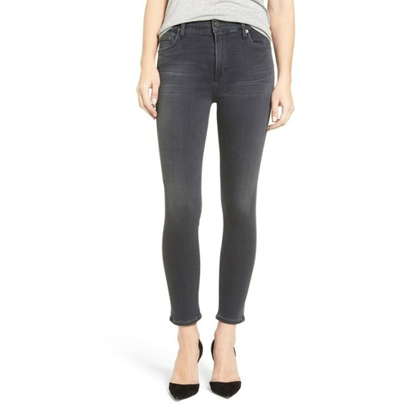 Citizens Of Humanity Denim - Citizens of Humanity Rocket Crop High Rise Skinny